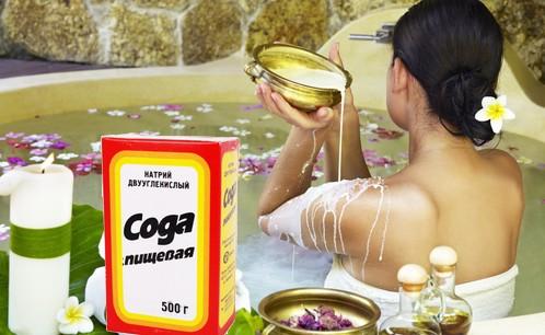 Содовая ванна помогает худеть