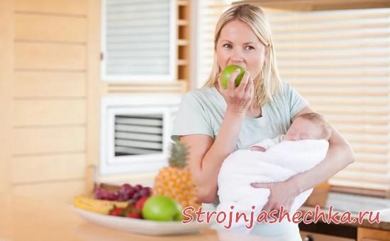 Как питаться при грудном вскармливании