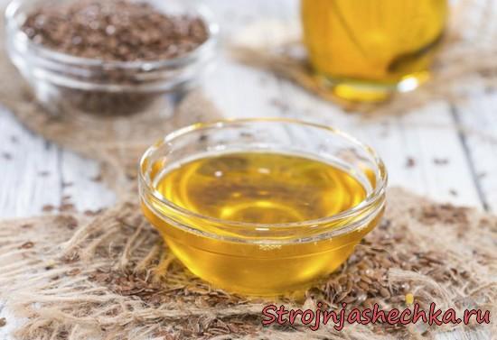 Льняное масло для похудения - как пить, рецепты обертываний и масок